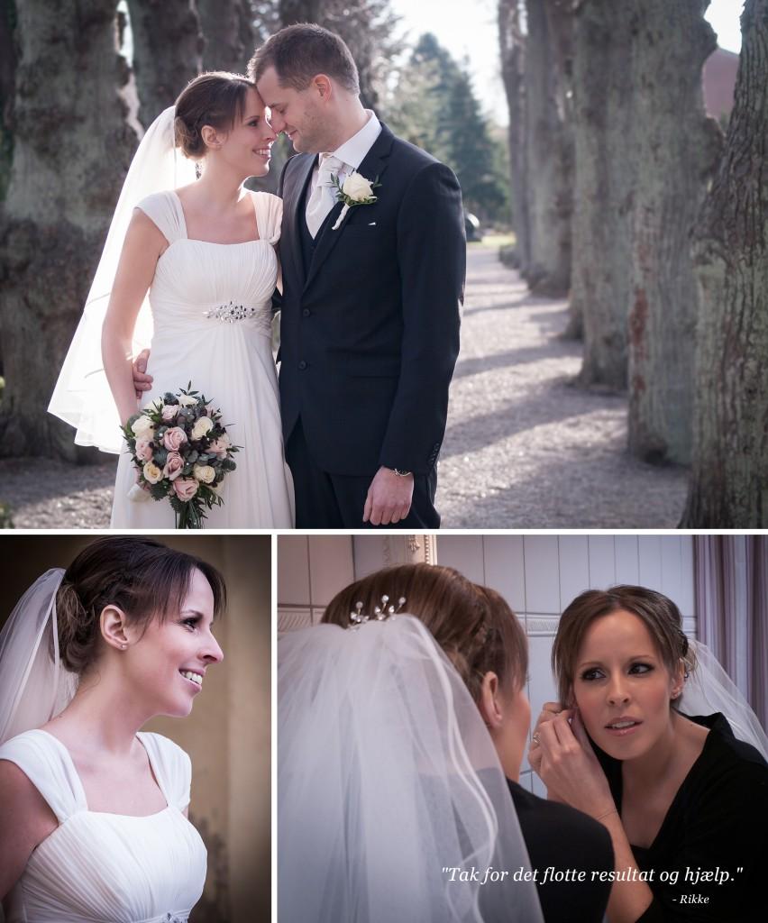 Bryllup makeup